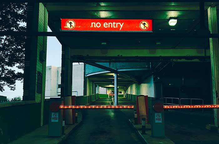 boom gate installation
