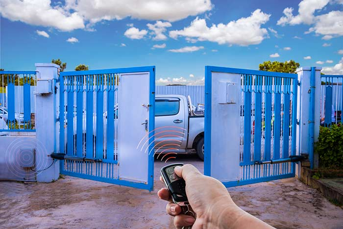 commercial automatic swing gates